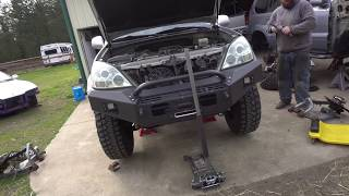 TOTAL CHAOS FABRICATION LONG TRAVEL LEXUS GX470 INSTALL EP286