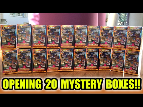OPENING 100 POKEMON CARD BOOSTER PACKS FROM 20 MYSTERY POWER BOXES! PART 1