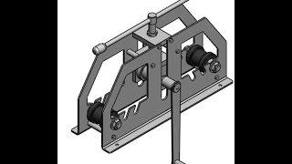 Трубогиб для профильных труб(Трубагиб предназначен, для изгибания квадратной и прямоугольной трубы. Применяется для изготовления тепли..., 2015-10-13T13:25:10.000Z)