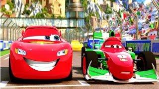 Süper Şimşek Guido ve Francesco ile Tehlikeli Araba Yarışlarına Katılıyor (Arabalar 2 Oyunu)