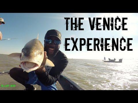 Red Fishing Venice Louisiana (The Venice Experience B.Lat #19)