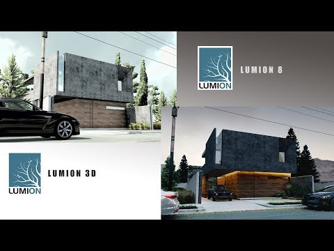 First Lumion 3D 2010 Vs Lumion 8 In 2017