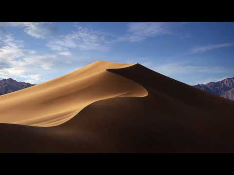 MacOS Mojave Dynamic Wallpaper