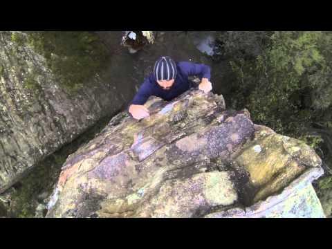 Climbing Blue Mountains