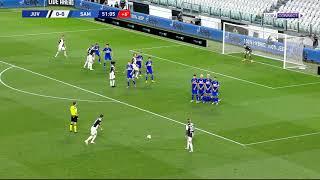 رونالدو يقود يوفنتوس للتتويج بلقب الدوري الإيطالي 🏆 🎉  | يوفنتوس 2 - 0 سامبدوريا