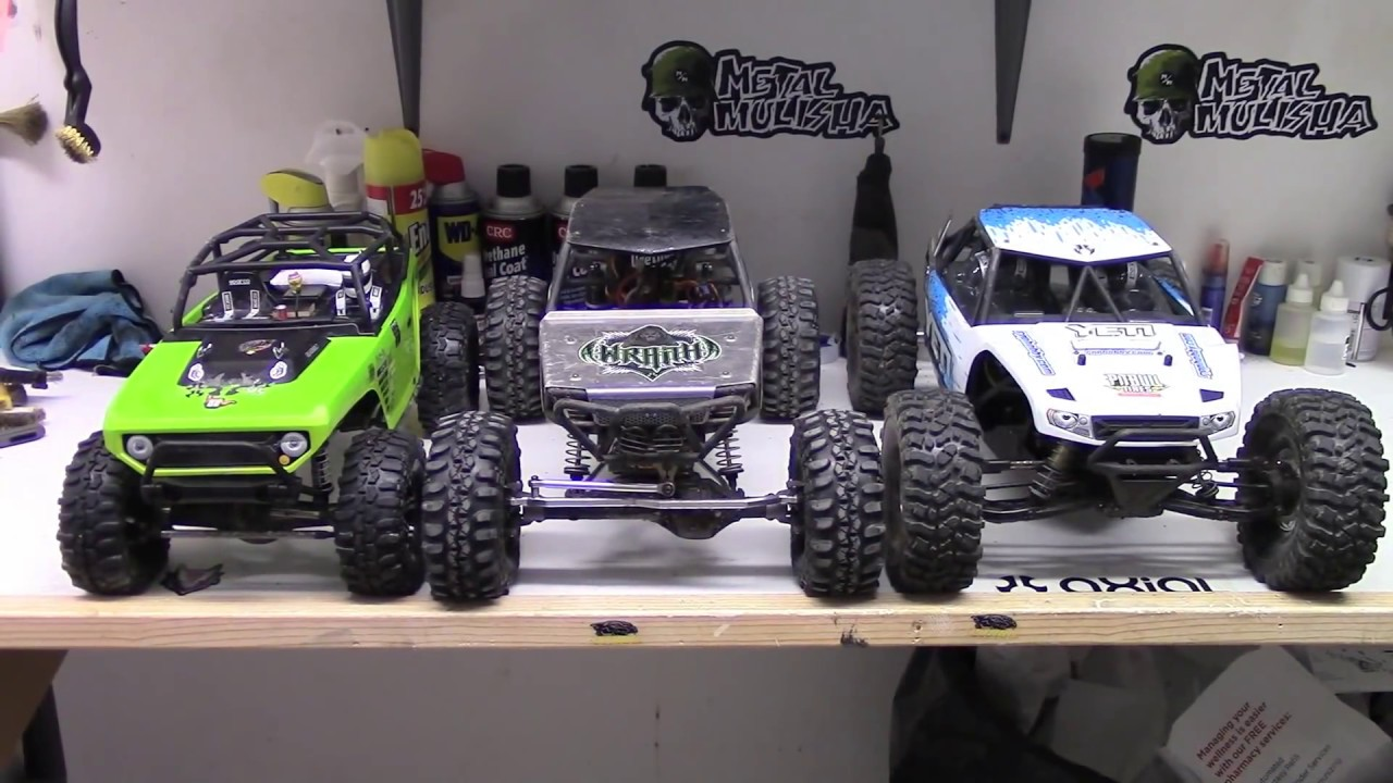 rctogether axial yeti vs wraith vs scx10 comparison youtube