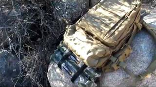 My Condor MOLLE 3-Day Assault Pack and my Frontier by GearPods.