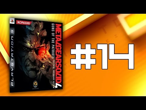 Awkwardness Extreme! - Metal Gear Solid 4: Guns of the Patriots #14 - Time to Drei