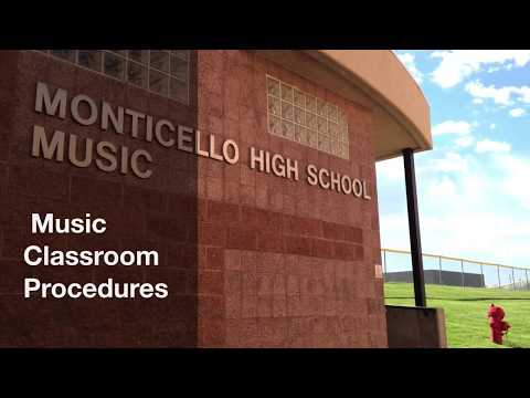 Music Classroom Procedures