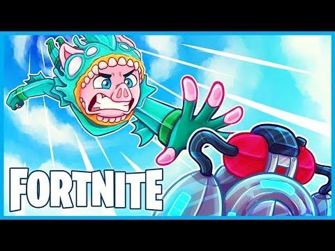 MAX HEIGHT JETPACK CHASEDOWN TRICKSHOT in Fortnite: Battle Royale! (Fortnite Funny Moments & Fails)