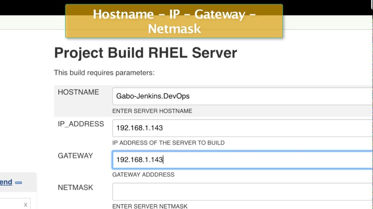 DevOps - Jenkins - Provision CentOS 7 server