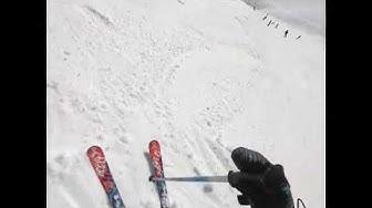 Skifahrer filmt Lawine in Crans-Montana