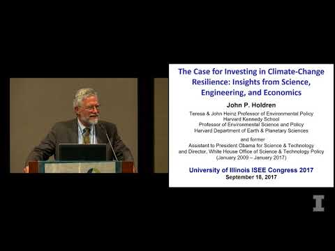 iSEE Congress 2017 -- Keynote Address by John P. Holdren