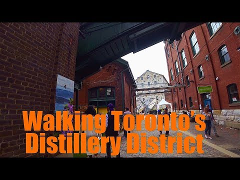 Walking Toronto: The Distillery District - Art, Architecture, Food & Drink