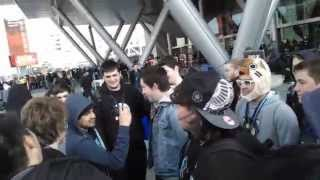 pax east 2015 lui calibre vanoss mini ladd i am wildcat cartoonz nogla twin