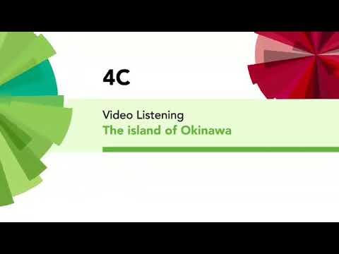 English File 4th Edition Elementary Video Listening 4C The Island Of Okinawa