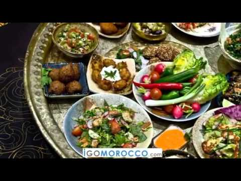 Morocco Street Food And Drink- Traditional Moroccan Food