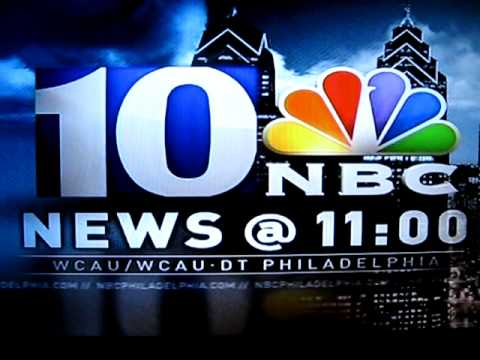 NBC10 Philadelphia News at 11pm Open