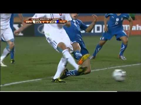 Slovakia vs Italy full , World Cup 2010, part 2