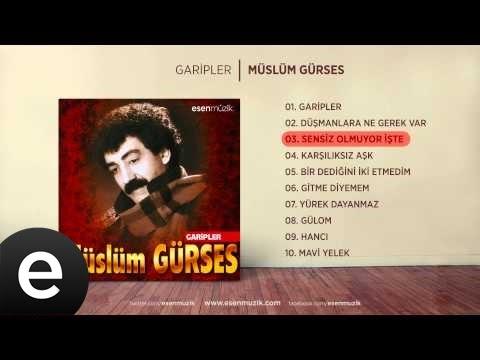 Sensiz Olmuyor İşte (Müslüm Gürses) Official Audio #sensizolmuyorişte #müslümgürses - Esen Müzik