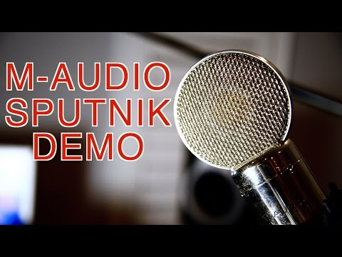 M-Audio Sputnik Microphone Demo