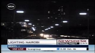 Kenya power has tendered for supplies for the 10 billion shillings street lighting project