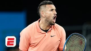 Nick Kyrgios on his epic five-set victory and Rafael Nadal's comments about him | Australian Open