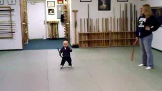 Aiden King ninja baby