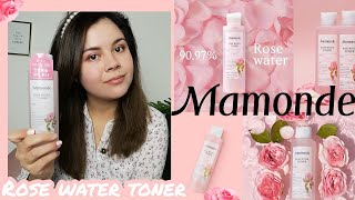 Mamonde Rose Water Toner Revie…