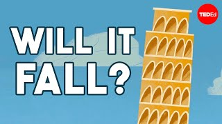 Why doesn't the Leaning Tower of Pisa fall over?  Alex Gendler
