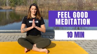 Guided meditation - Feel good visualization (10 min)