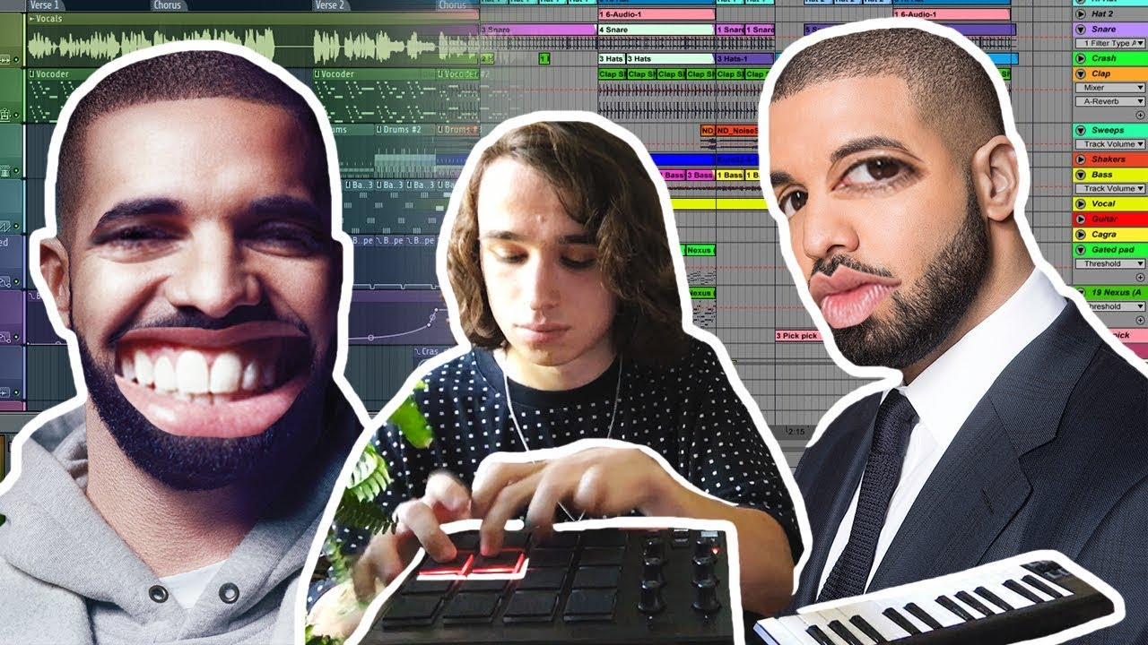 How to produce a HIT for DRAKE in 1 MINUTE.