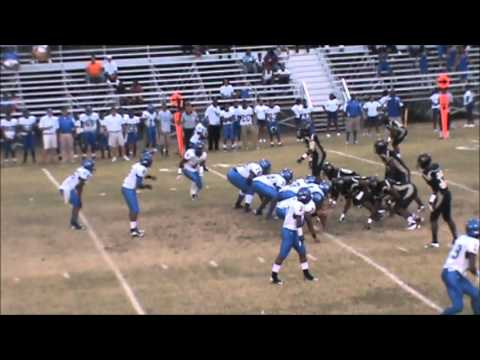 #9 Jarvis Jones - Memphis Mitchell Junior Highlights