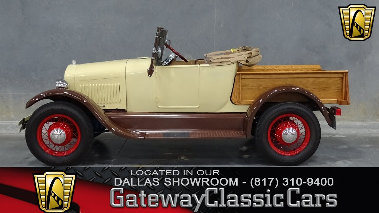 1927 Ford Model T Pickup Stock #101 Gateway Classic Cars of Dallas ...