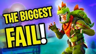 THE *BIGGEST FAIL* IN FORTNITE HISTORY! | Fortnite Battle Royale