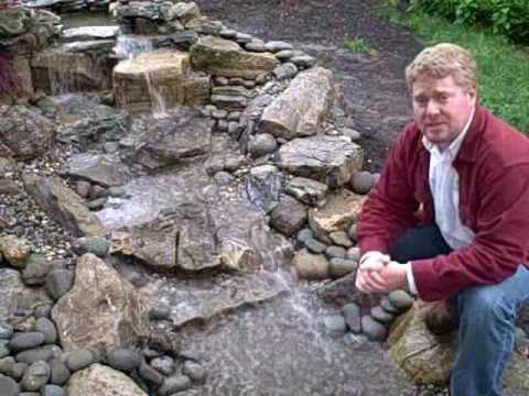 How To Install A Pondless Waterfall Step By Step In Plainfield, NJ   YouTube