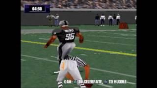 NFL Gameday 2000 Baltimore vs Oakland Part 1