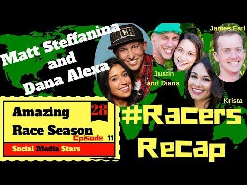 Amazing Race Season 28 Episode 11 Recap With Guests Matt And Dana #RacersRecap