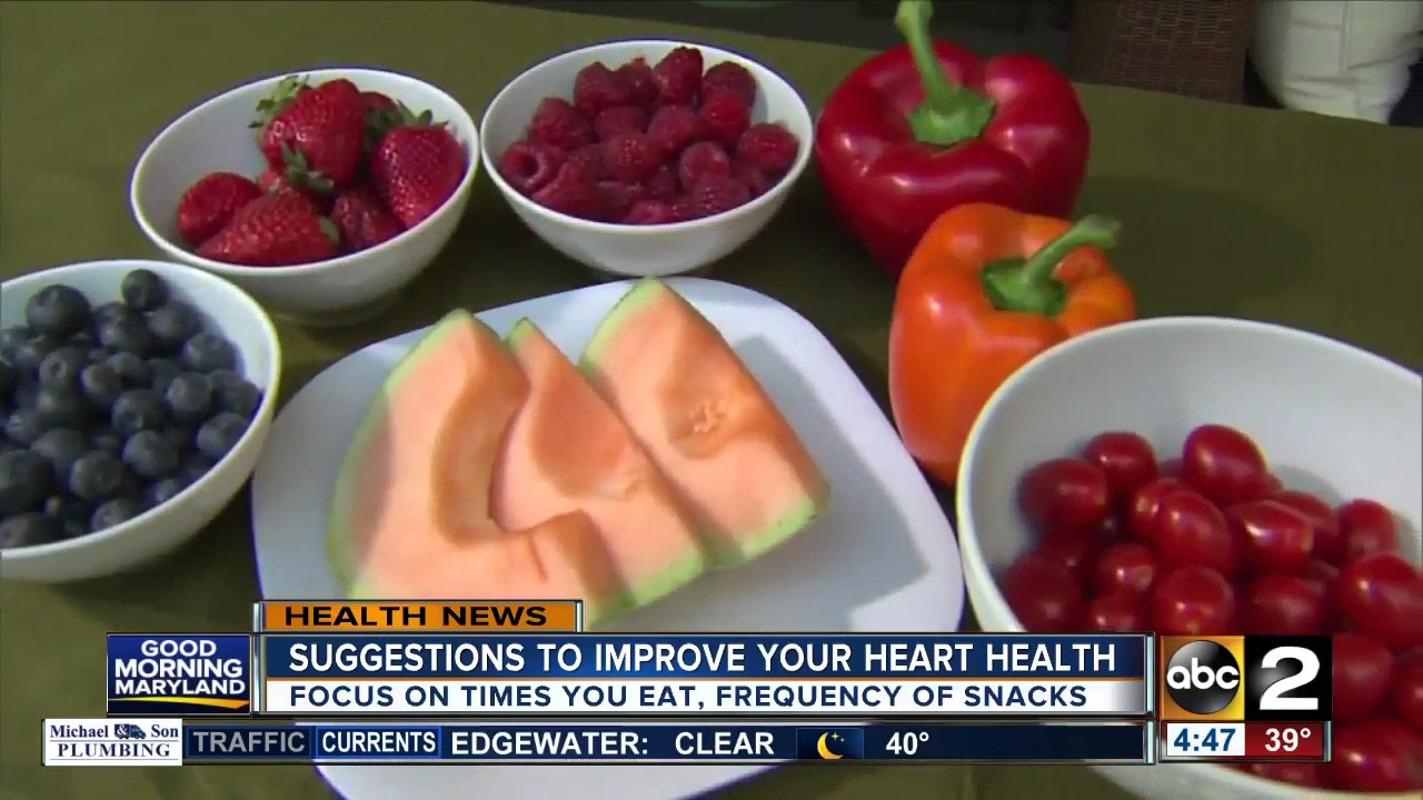 New guidelines to improve heart health released by the American Heart Association
