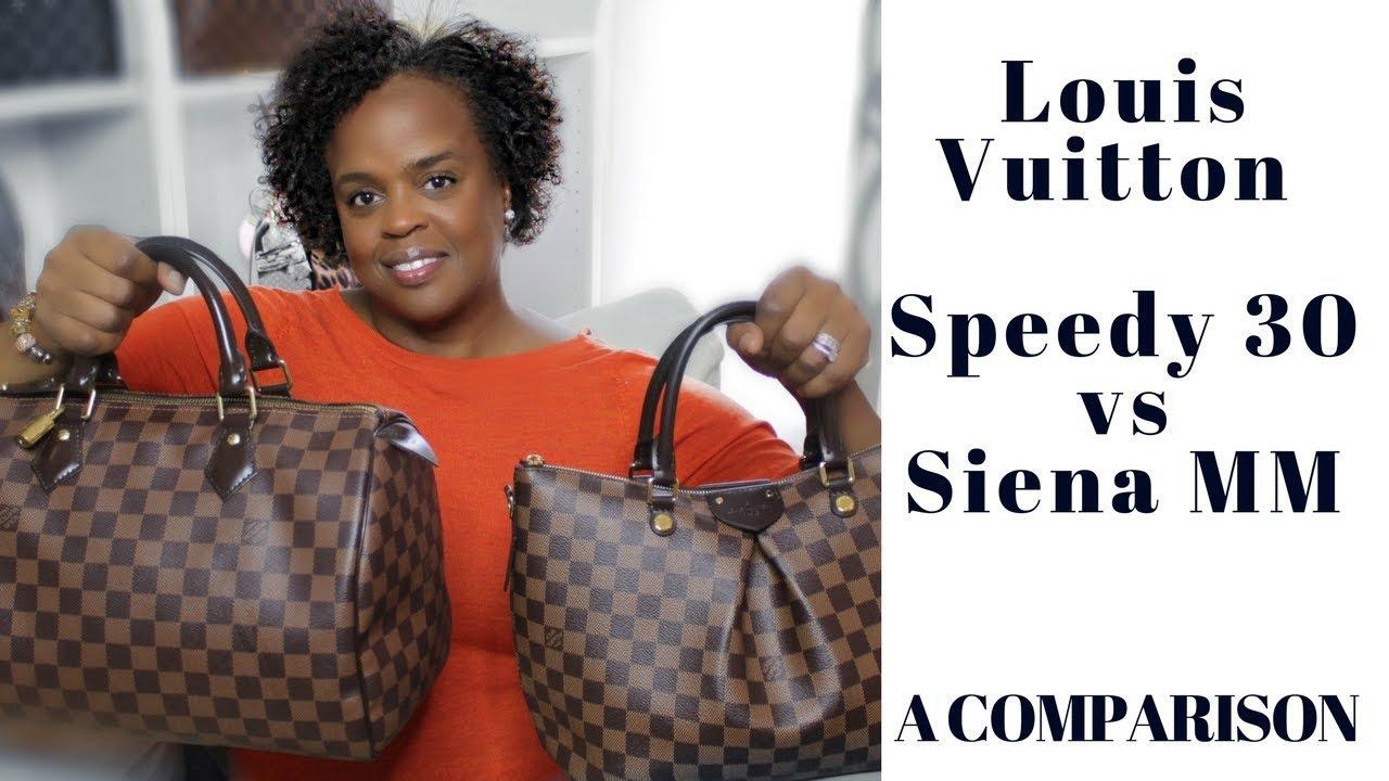 918dbe5a4e Comparison | Louis Vuitton Speedy 30 vs Siena MM | DreLux TV