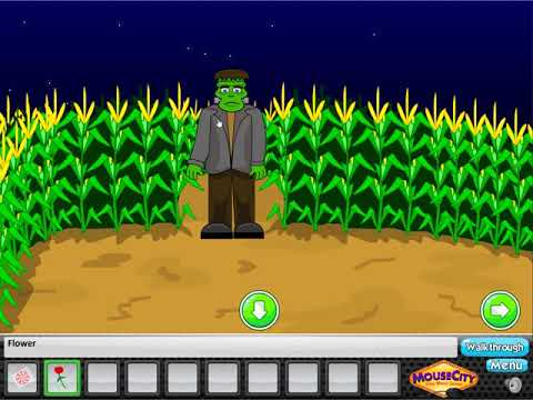 Escape Crazy Corn Maze -- Walkthrough