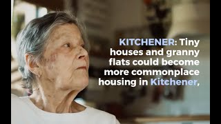 New Zoning Rules Allow Tiny Houses, Granny Flats Throughout Kitchener