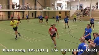 Handball. XinZhuang JHS (CHI) - KSLI (Kiev, UKR). Viborg. U16G. Gr PO-A1. GENERATION HANDBALL-2018