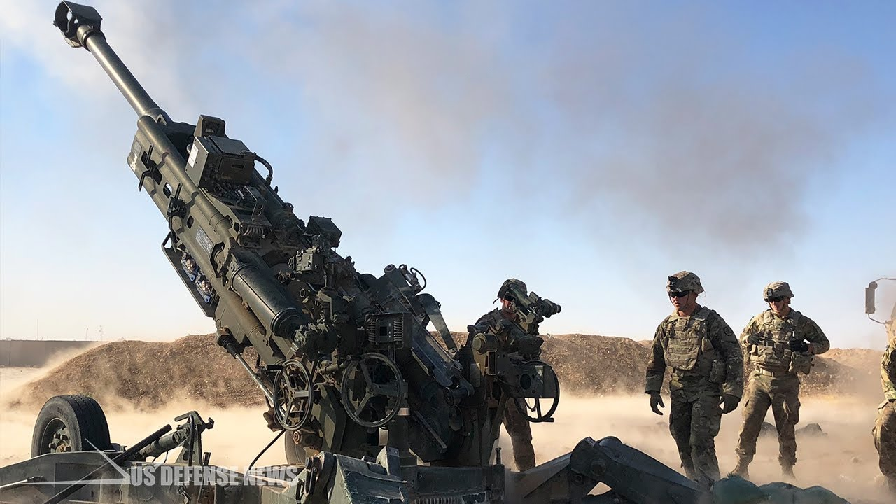 The First Boom • Artillery Marines • Fire the M777 Howitzer 💥💥💥💥