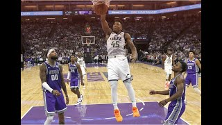 Jazz erase 16-point deficit, waste 14-point lead then rally late to beat Kings