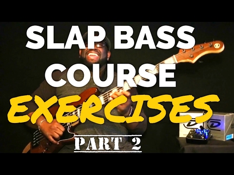 CRUCIAL SLAP BASS EXERCISES YOU NEED TO KNOW!  | Bass Guitar Tips ~ Daric Bennett's Bass Lessons