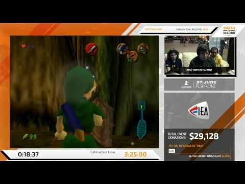 STR 2016 - Zelda: Ocarina of Time 100% No Source Requirement Speedrun in 3:22:43 by ZFG