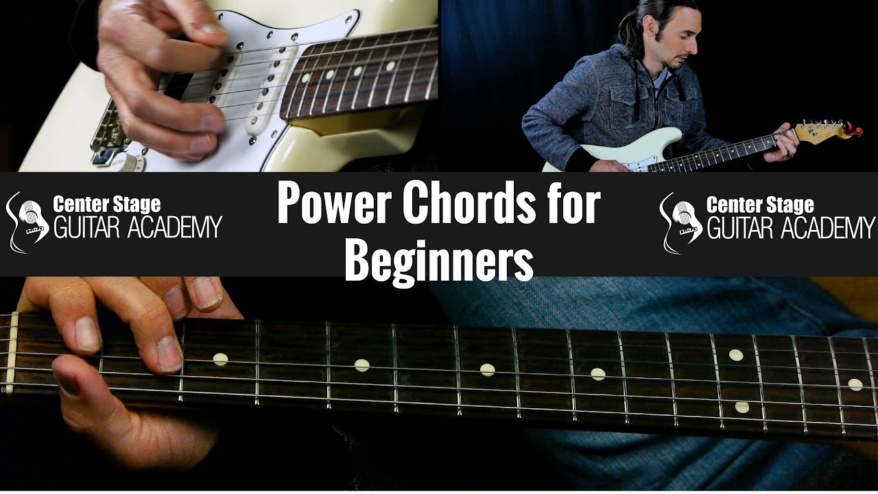 How To Play Guitar For Beginners Power Chords Youtube
