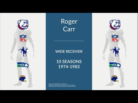 Roger Carr: Football Wide Receiver