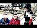 Lindsey Stirling And Pentatonix Radioactive Singers Reaction mp3